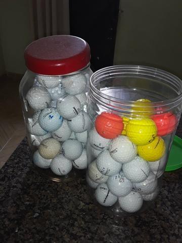 Vende-se bolinhas de golfe