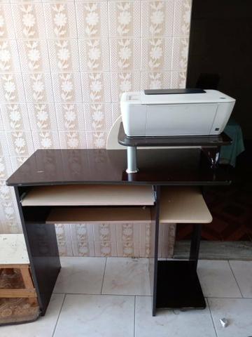 Mesa para computador e Impressora HP
