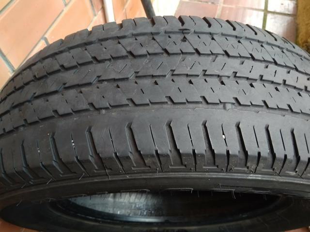 Kit estepe pneu bridgestone + roda ferro original Fiat toro - Foto 3