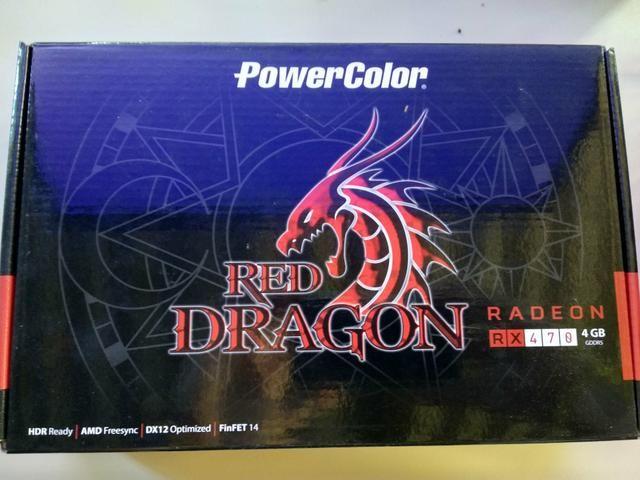 AMD Radeon RX 470 4GB PowerColor Red Dragon - Foto 4