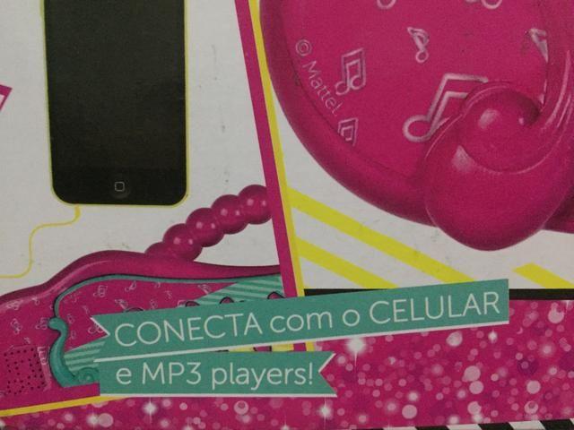 Vendo teclado musical da Barbie na caixa! - Foto 4