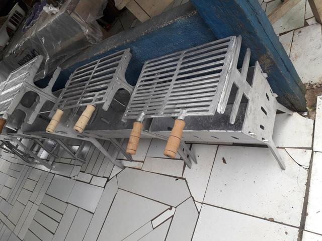 CHURRASQUEIRA alumínio fundido - Foto 2