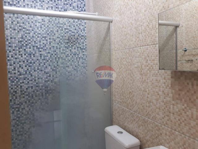 Casa com 2 dormitórios para alugar por R$ 500,00/mês - Tiradentes - Juazeiro do Norte/CE - Foto 4