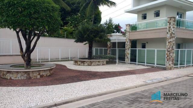 Casa com 3 dormitórios para alugar, 176 m² por R$ 2.509,00/mês - Precabura - Eusébio/CE - Foto 3