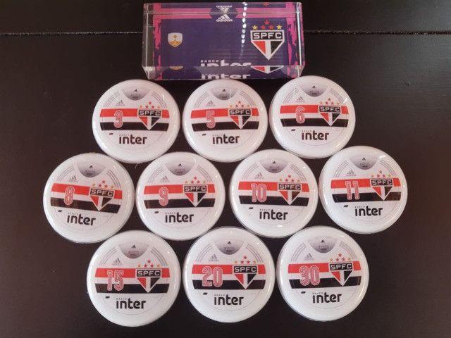 Futebol de Botão Times de Vidrilha 45mm - Foto 6