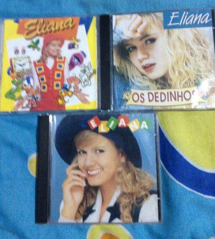 Eliana - 3 títulos (3 CDs)