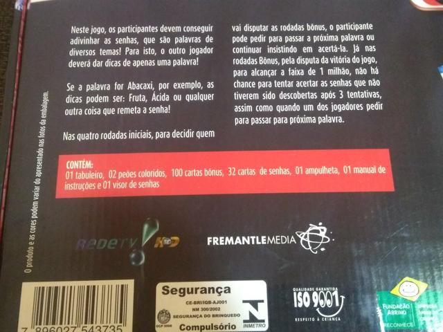 Jogo de Tabuleiro Mega Senha - Foto 2
