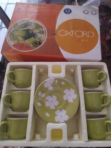 Jogo de xícaras 75 ml Oxford