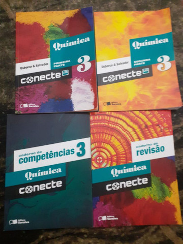 Coleção 4 Livros de Química - Conecte- Editora Saraiva