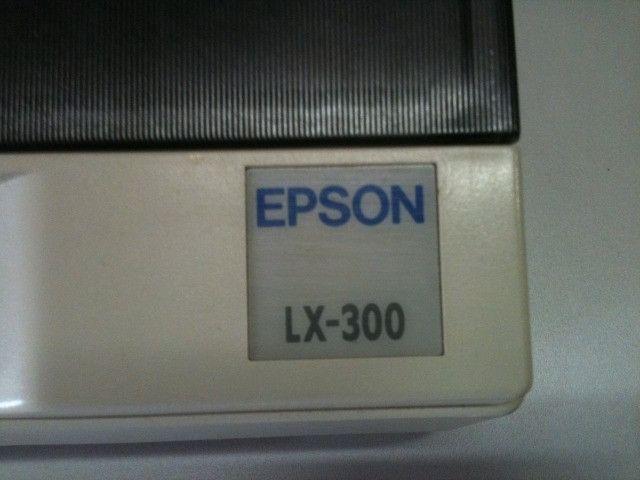 Impressora Epso lx-300 Matricial !! Somente cabo Paralelo * Frete Gratis - Foto 4