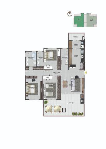Apartamento Residencial Lucas - Areias - São José/SC - Foto 2