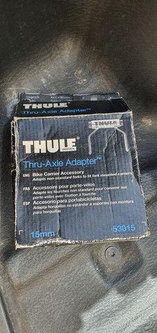 Suporte de Bicicleta Thule Usado para Caçamba (822 XT) + Adaptador Thule eixo 15mm(53015) - Foto 6