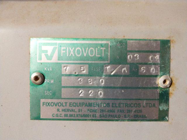Autotransformador trifásico 380/220V - 7.5kva - Foto 5