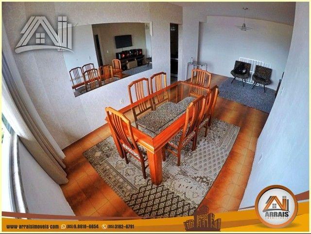 Apartamento com 3 dormitórios à venda, 96 m² por R$ 280.000,00 - Vila União - Fortaleza/CE - Foto 3