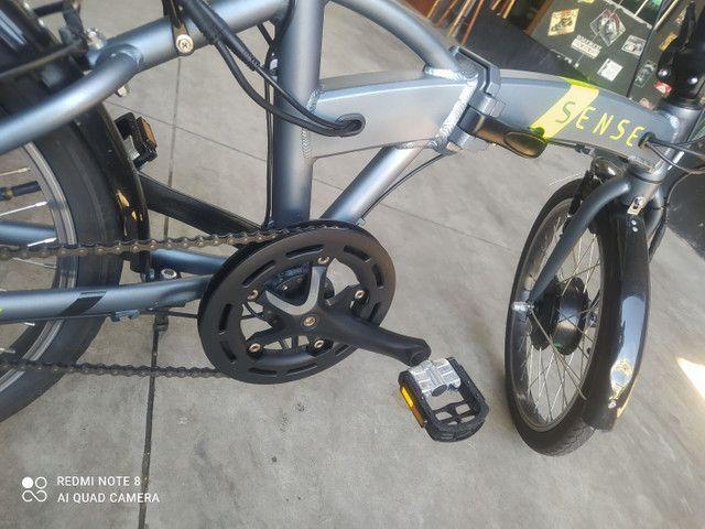 Bike elétrica SENSE 2020 impecavel - Foto 3