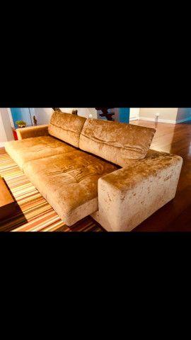 sofá retrátil 4 lugares - Foto 4