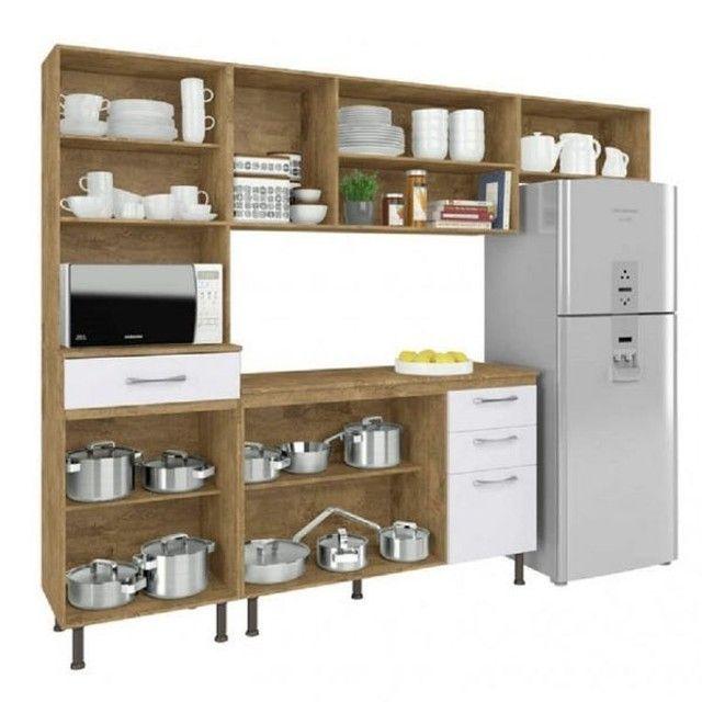 Armário para Cozinha Completo / Cozinha Compacta Com Balcão  - Foto 4