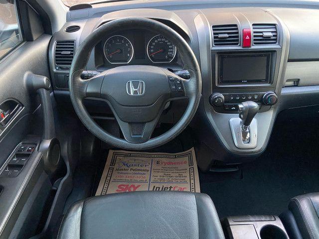Honda CRV 2.0 LX 2011 Automática zerada / tro.co e financio - Foto 9