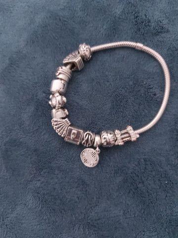 Pulseira em prata - Foto 2