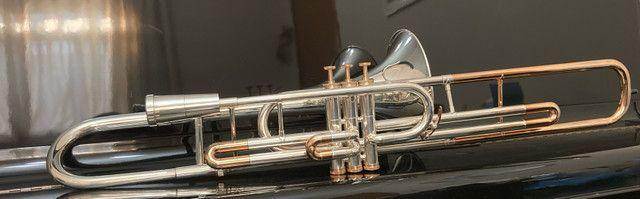 Trombone Weril Prata Sib Curto - Foto 6