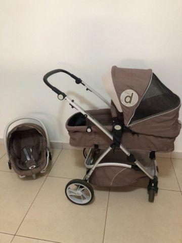 Carrinho + Moisés + bebê conforto Dzieco Maly