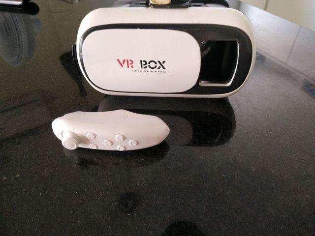 Vr box realidade virtual com controle para jogos. - Foto 2