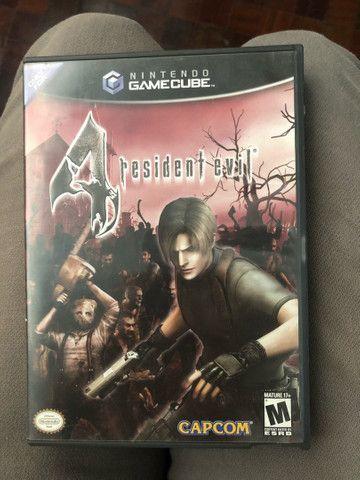 Resident evil 4 - nintendo game cube