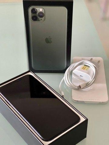 iPhone 11 Pro Max 256 Gb Verde, Estado De Novo, Bateria 96