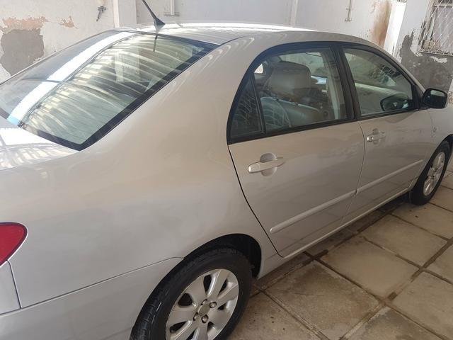 Corolla 2007 XEI COMPLETO AUTOMÁTICO RODAS , BANCOS EM COURO