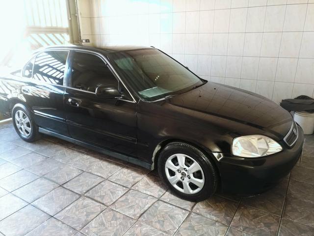 Nice Honda Civic 1.6 LX Completo 2000