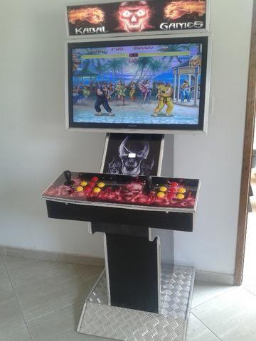 1acb50003 Maquina Fliperama Arcade Multijogos - Videogames - Centro, Itaboraí ...