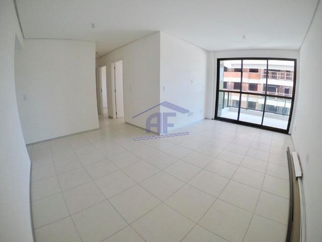 Apartamento com varanda goumert - Condomínio Gran Marine - Guaxuma