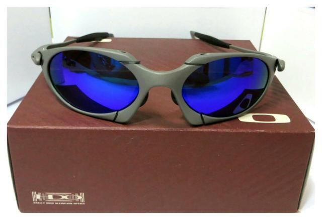 4f8dccb7b Óculos Oakley Romeo 1 xmetal azul magic Polarizado Novo ...