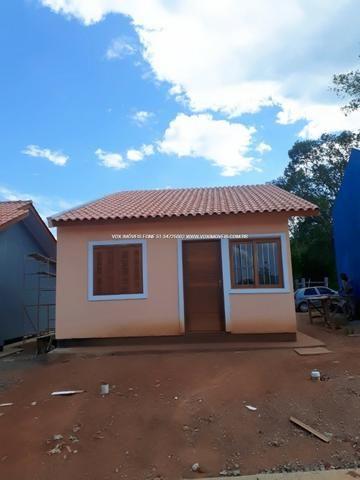 Casa 2 dormitórios com pátio grande, em Nova Santa Rita - Foto 3