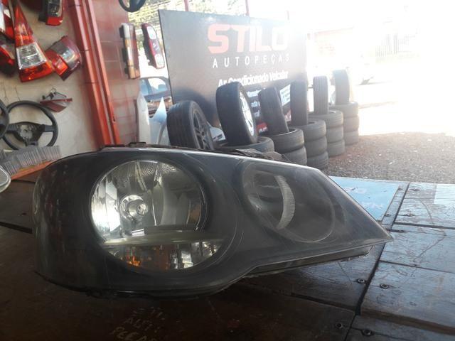 Farol dianteiro direito Volkswagen Golf sportline máscara cinza usado original