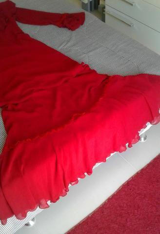Vestido de festas vermelho