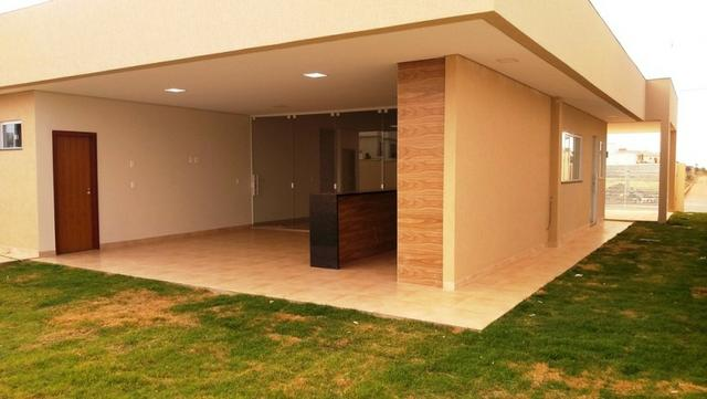 Samuel Pereira oferece: Casa 3 Suites Moderna Armários Churrasqueira Sobradinho CABV - Foto 7