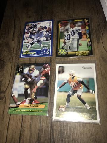 Pack cartas NFL futebol americano