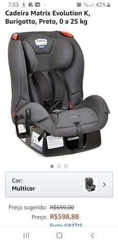 Cadeira matrix burigotto 0-25 - Foto 3