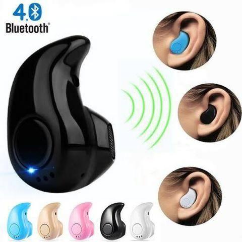 Fone de Ouvido Ponto Eletrônico Bluetooth Android celular