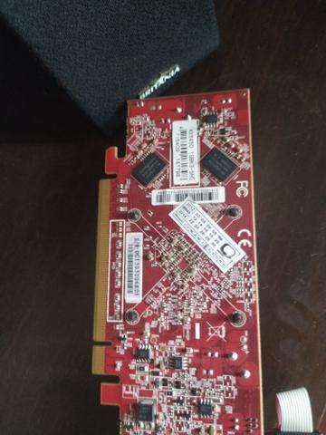 Placa de vídeo AMD hd6450 1 gb e memória DDR2 2gb - Foto 4