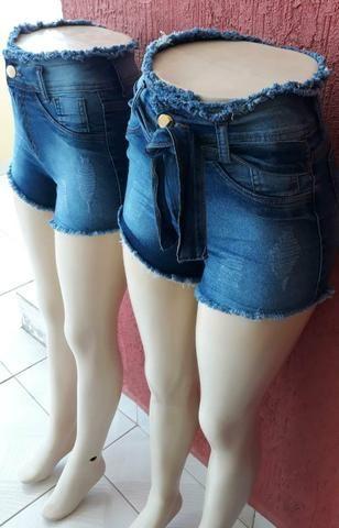 Shorts Jeans com Lycra de 3% - Foto 3