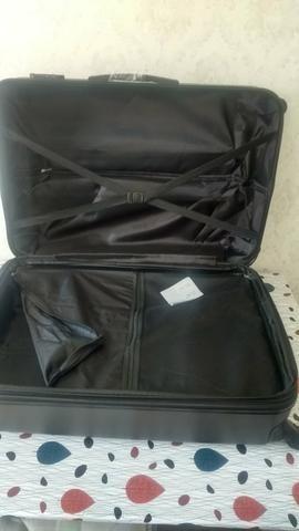 Conjunto kit de malas de viagem ABS fibra NOVAs - Foto 2