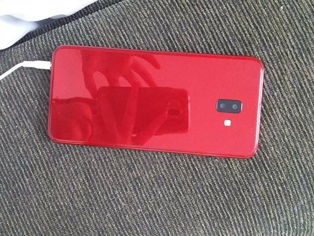 Troco j6+ 32gb vermelho POR BIKE - Foto 3
