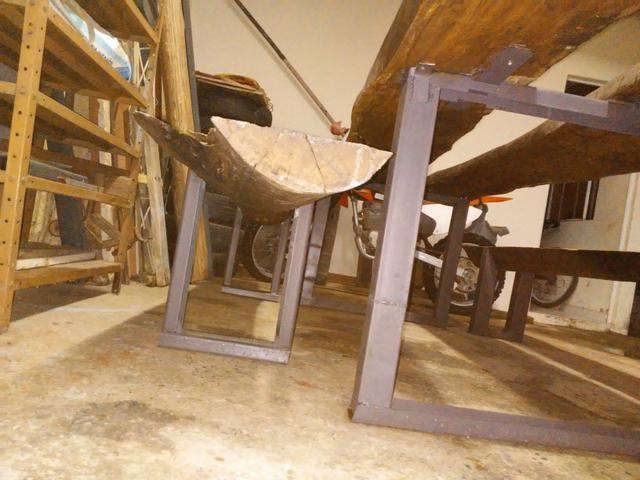Mesa rústica de pranchao - Foto 6