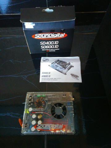Caixa de som Pioneer com Módulo SD Digital 600.1 RMS - Foto 4