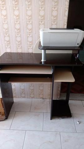 Mesa para computador e Impressora HP - Foto 3