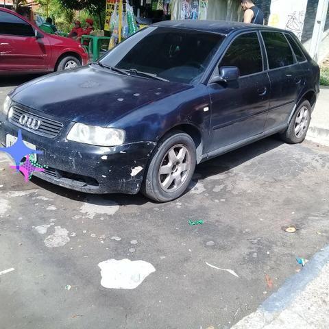 Vendo Audi A3 ano 2003 ou Troco por moto ou carro de porte menor - Foto 2