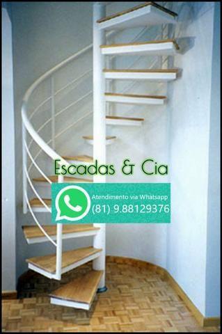 Fabricação de Escada Caracol, Escada Reta e Fundição em geral - Foto 2