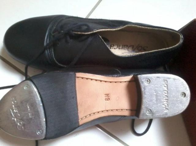 43f3d09587 Sapato Profissional De Sapateado Sódança Feminino - Esportes e ...